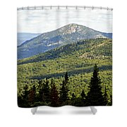 Mountian Draw Shower Curtain