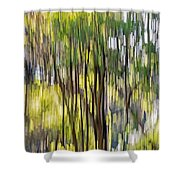 Mourn Not Winter's Passing Shower Curtain