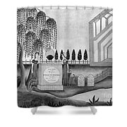 Mourning C1815 Shower Curtain