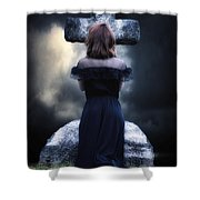 Mourning Shower Curtain