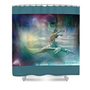 Mourning To Dancing Shower Curtain