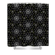 Mourning Weave Shower Curtain