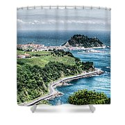 Mouse On The Sea Shower Curtain
