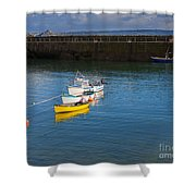 Mousehole Cornwall Shower Curtain