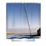 Mouth Of The River Tyne Shower Curtain
