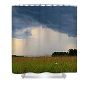 Mouth Of The Storm Shower Curtain
