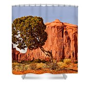 Move Out Of The Way Tree Shower Curtain