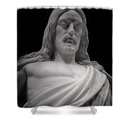 Moved With Compassion Shower Curtain