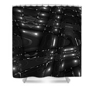 Moveonart Darkspace Portland Oregon Usa 2013 Shower Curtain