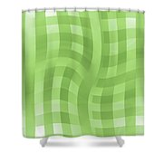 Moveonart Groovygreen Shower Curtain