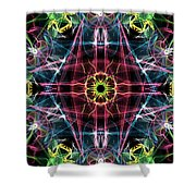 Moveonart Neverseenbeforestar Omnetra Shower Curtain