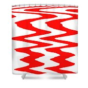 Moveonart Visualtherapytime03feb Shower Curtain