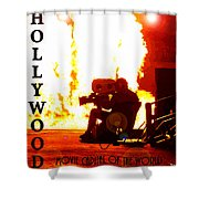 Movie Capital Poster Work 3 Shower Curtain