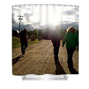 Moving Forward Shower Curtain