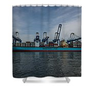 Moving Goods Shower Curtain