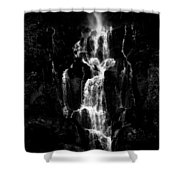 Moving In The Dark Shower Curtain