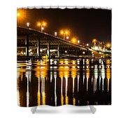 Moving Reflection Shower Curtain