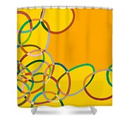 Moving West Shower Curtain