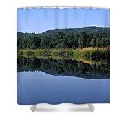 Moyie Lake Shower Curtain