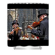 Mozart In Masquerade Shower Curtain