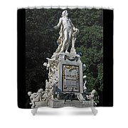 Mozart In Vienna Shower Curtain