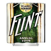 Mr. And Mrs. Flint Shower Curtain