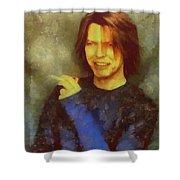 Mr Bowie Shower Curtain