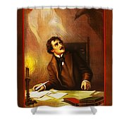 Mr Henry Ludlowe In The Raven Shower Curtain