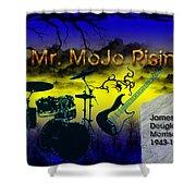 Mr Mojo Risin Shower Curtain