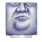 Mr. Moon Shower Curtain