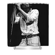 Bad Company Live In 1977 Shower Curtain