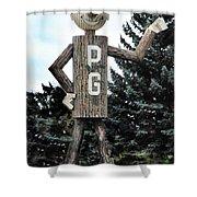 Mr. Pg Shower Curtain