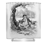 Mr Pickwick, From Charles Dickens A Shower Curtain