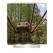 Mr. Spider Shower Curtain