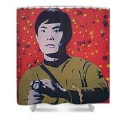 Mr Sulu Shower Curtain