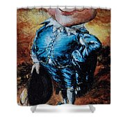 Mr Toad Shower Curtain