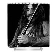 Mrmt #1 Enhanced Bw Shower Curtain
