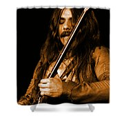 Mrmt #1 In Amber Shower Curtain