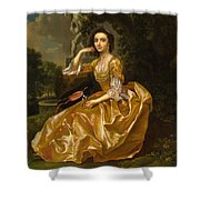 Mrs. Mary Chauncey Shower Curtain