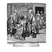 Mrs. Murray And Lord Howe Shower Curtain