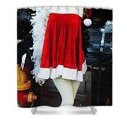Mrs Santa Manequin Shower Curtain