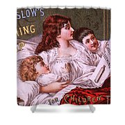 Mrs Winslow's Soothing Syrup Shower Curtain