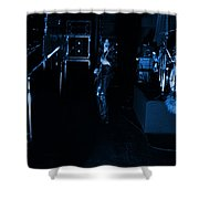 Mrush #34 In Blue Shower Curtain