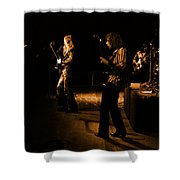 Mrush #9 In Amber Shower Curtain