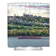 Mt Adams Cincinnati 9919 Shower Curtain