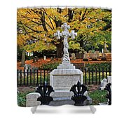 Mt Auburn Cemetery 11 Shower Curtain