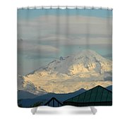 Mt. Baker Shower Curtain