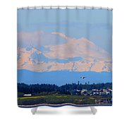 Mt. Baker Of Pacific Northwest Shower Curtain