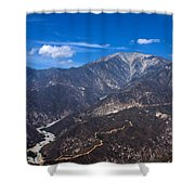 Mt. Baldy Shower Curtain