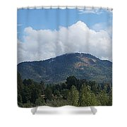 Mt Baldy Panorama From Grants Pass Shower Curtain